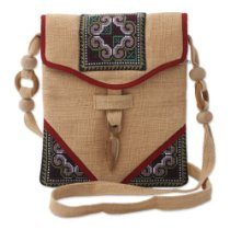 Hemp shoulder bag  Fair Trade Products